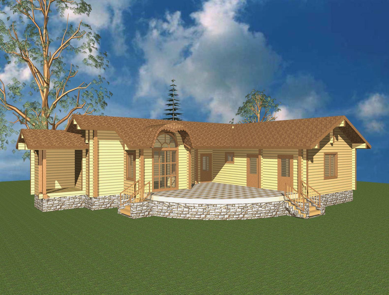 Дом баня: варианты проектов дома с баней под одной крышей, анализ преимуществ и недостатков, советы по строительству
