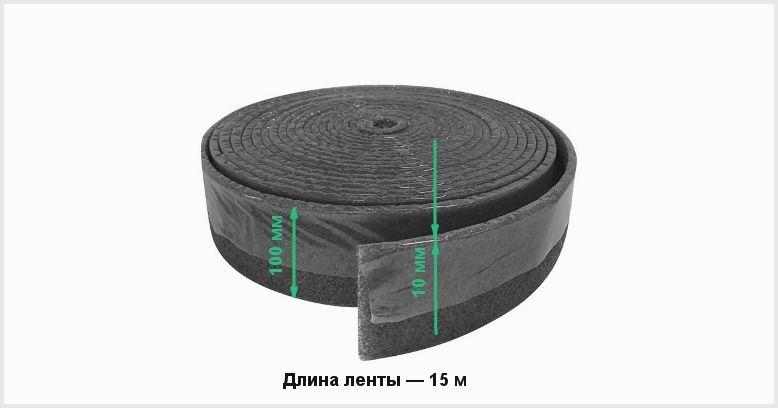 Демпферная лента для теплого пола: как использовать для стяжки теплого пола