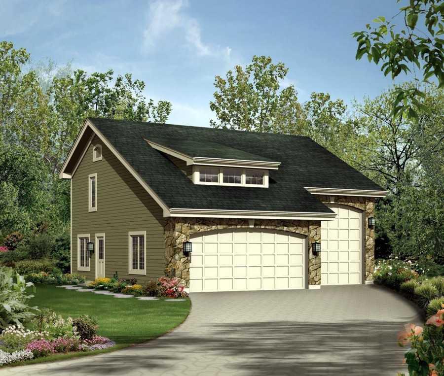 Проекты домов с баней и гаражом – особенности проектирования