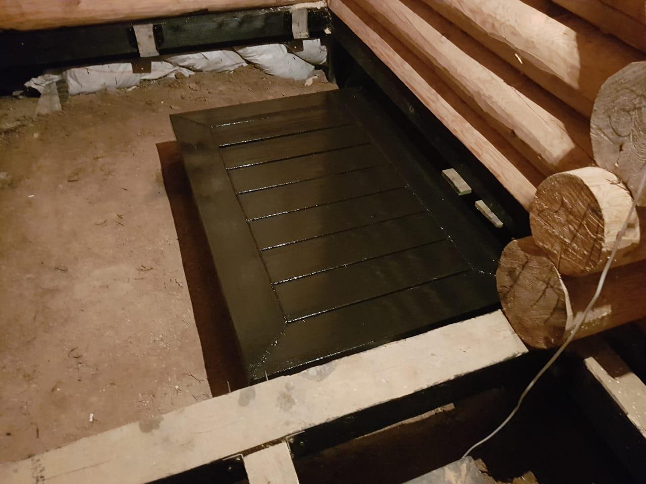 Утепление пола в бане на сваях: инструкция