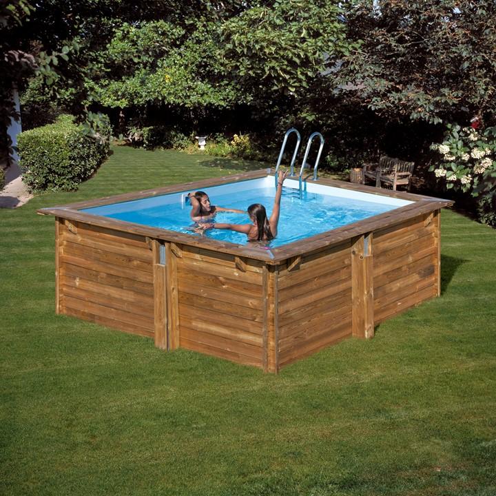Деревянный бассейн. как быстро построить своими руками?