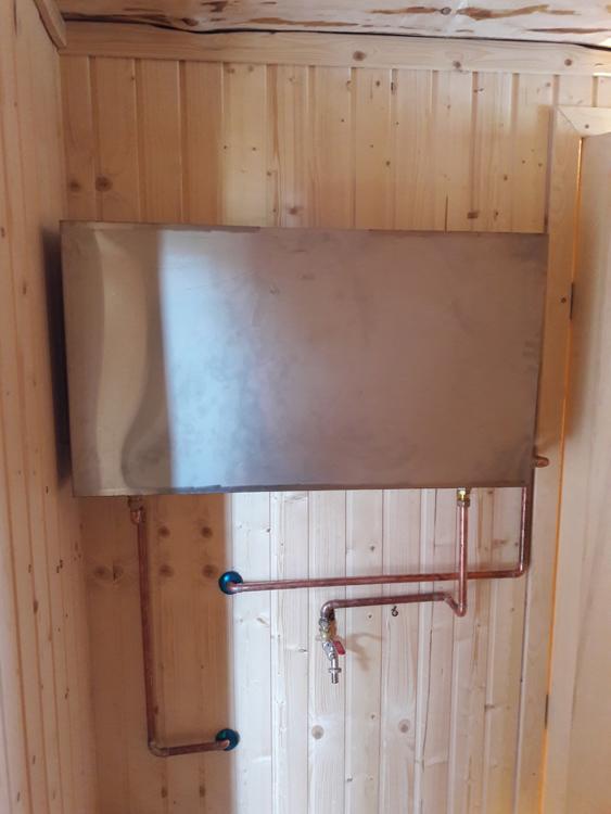 Наиболее распространенные конструкции бака для воды в бане