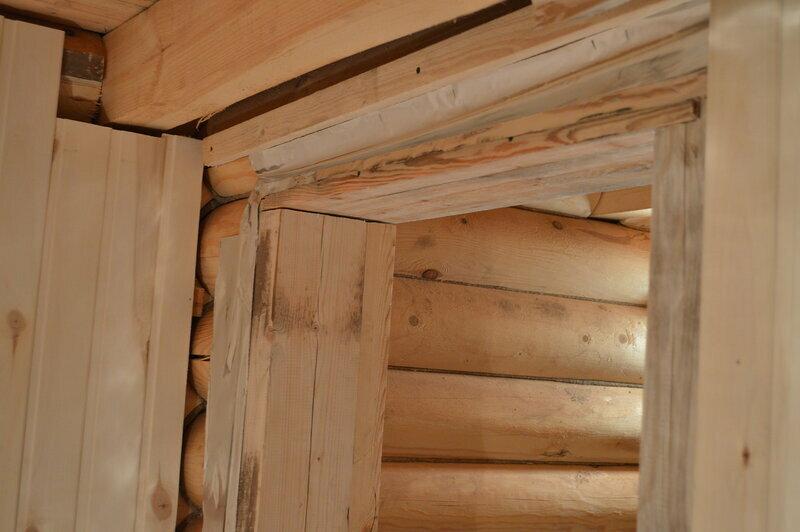 Установка двери в бане из сруба или кирпича своими руками