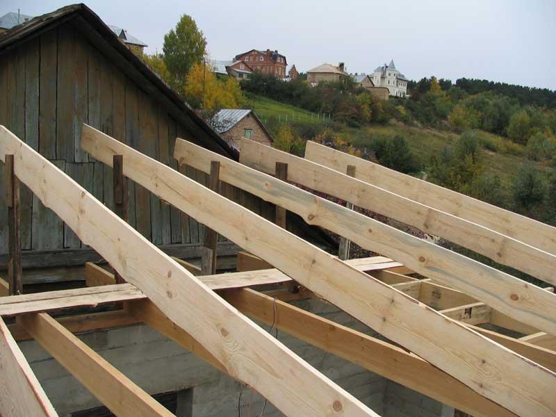 Односкатная крыша своими руками пошагово: устройство стропильной системы, чертежи, видео