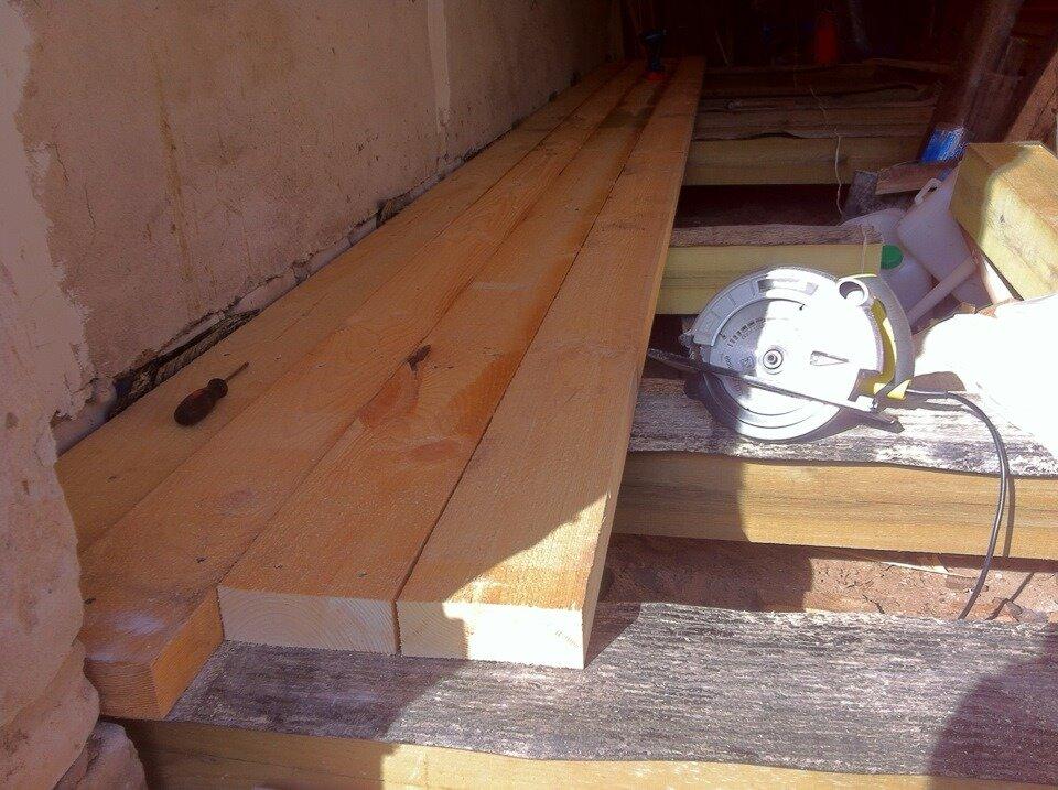 Настил полов деревянной доской своими руками: инструкция