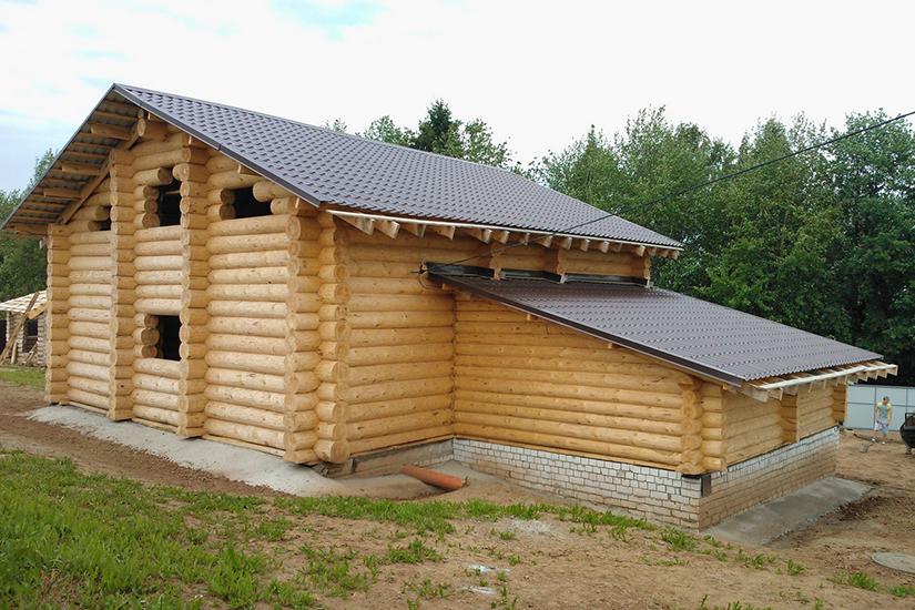 Хочу пристроить баню к дому - как сделал!