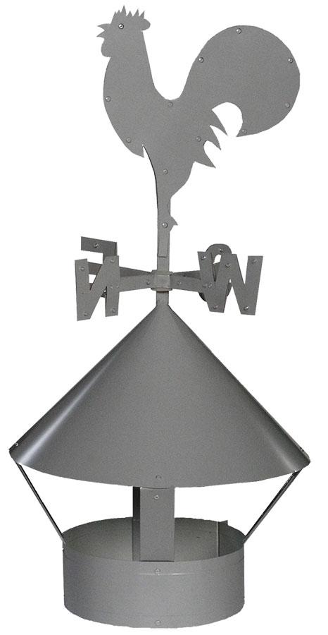 Как сделать правильный выбор флюгера на дымоход в бане?