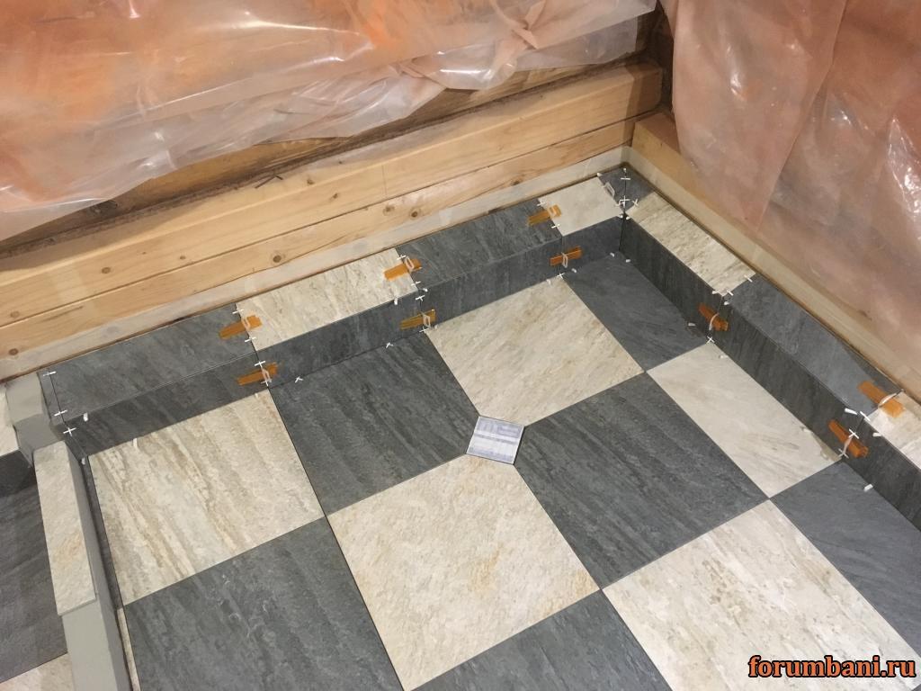 Выбор и укладка плитки в бане: особенности облицовки во влажных условиях