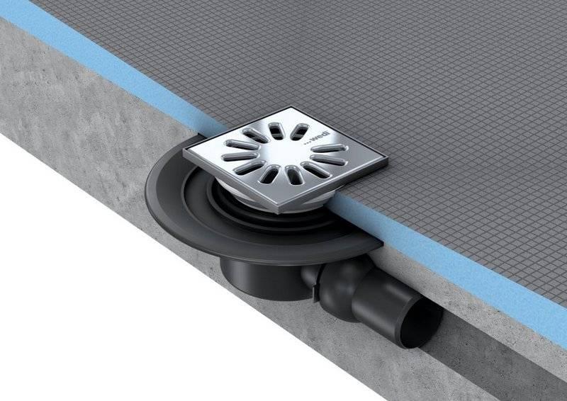 Сифон (слив) для душевой кабины: виды, рекомендации по выбору, процесс установки