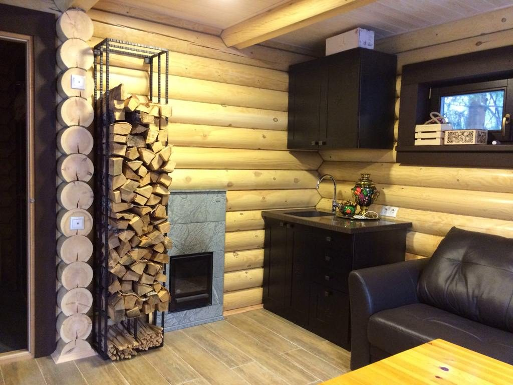 Отделка сауны (61 фото): дизайн внутри бани, интерьер комнаты отдыха, материалы для внутренней отделки и оформление стен камнем