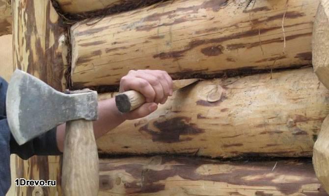 Как конопатить сруб