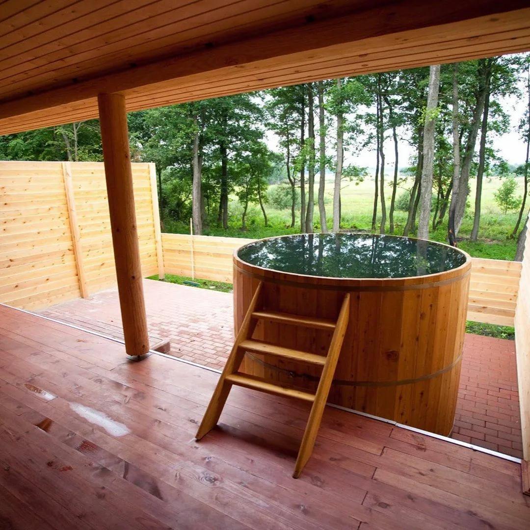 Авторские бани с гостевыми апартаментами. проекты и фото от гк «городлес»