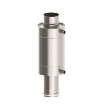 Теплообменник на трубу в баню: отопление через дымоход от регистра, фото и видео