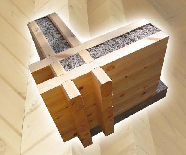 Баня по технологии двойного тёплого бруса: все плюсы и минусы