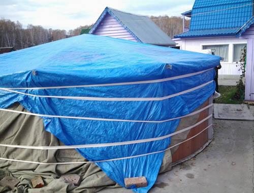 Как правильно и где хранить каркасный бассейн интекс зимой