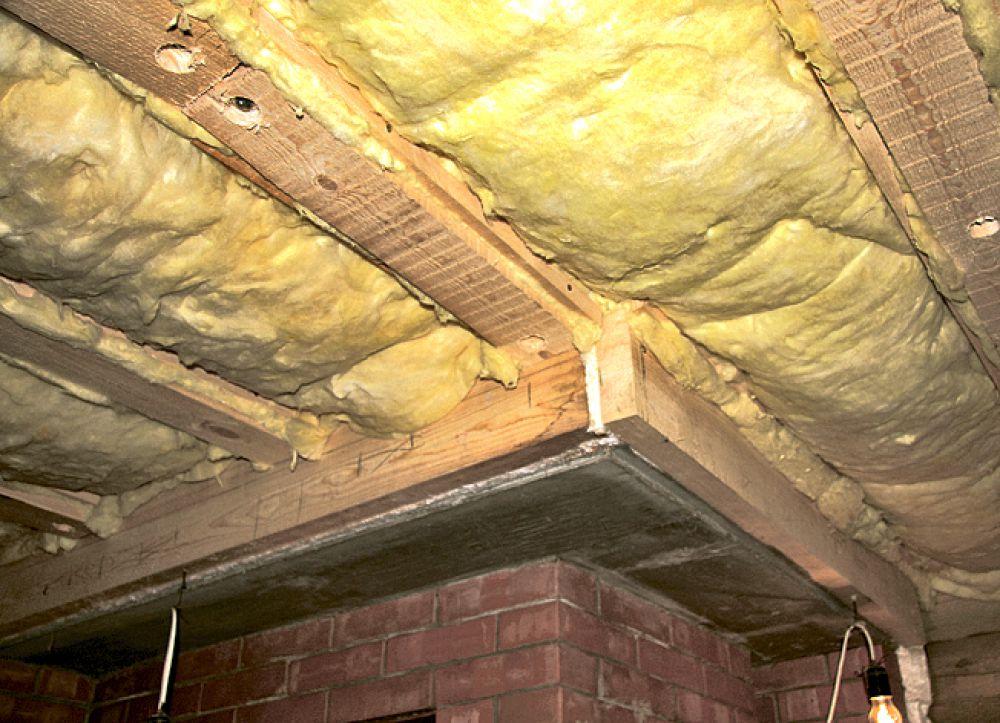 Чем утеплить в бане потолок, стены и пол: материалы и технологии
