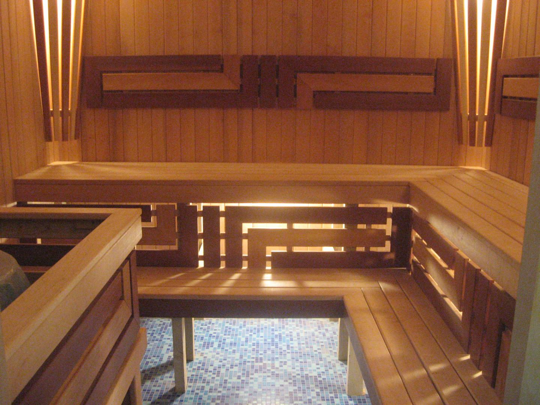 Внутренняя отделка бани: фото парилки и моечной