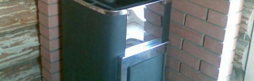 Устройство кирпичного экрана для банной печи