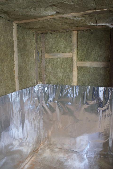 Пароизоляция для бани: пошаговая инструкция, выбор материалов