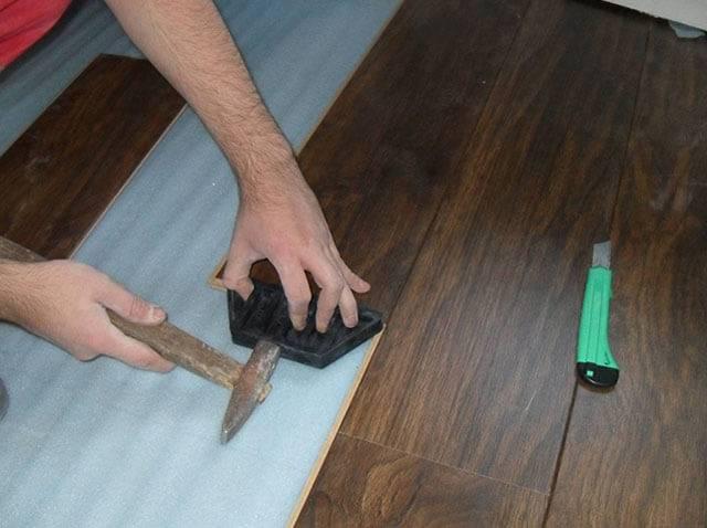 Как уложить ламинат своими руками качественно