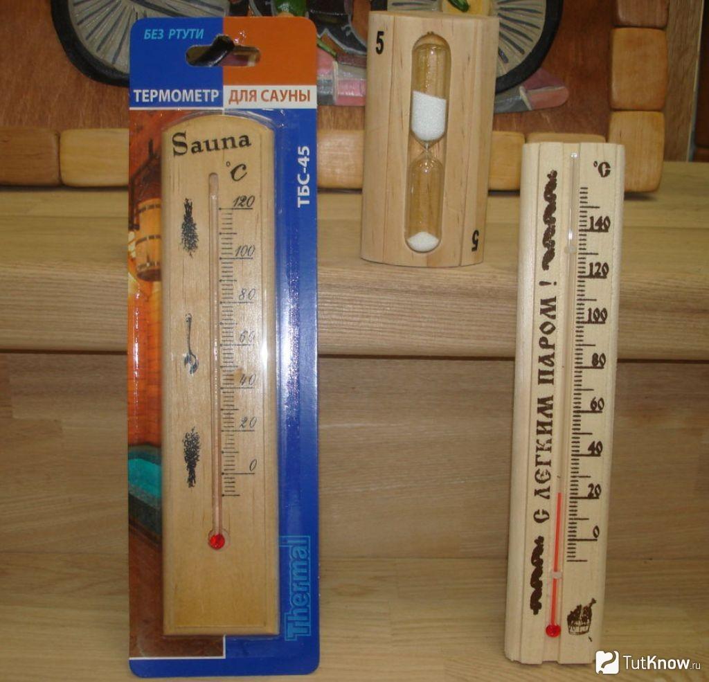 Лучший термометр для бани