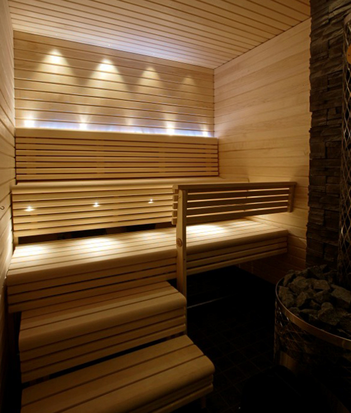 Оптоволоконное освещение для бани - преимущества использования