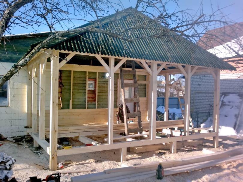 Баня как пристрой к дому: особенности проектирования