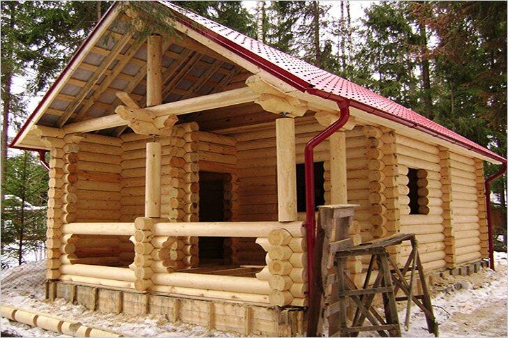 Как построить баню – описание технологии строительства, схемы, чертежи и 125 фото – строительный портал – strojka-gid.ru