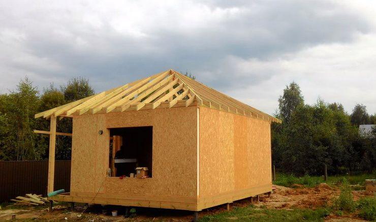 Дом и баня из сип панелей: особенности, недостатки сип панелей, отзывы живущих владельцев, постройка своими руками + видео