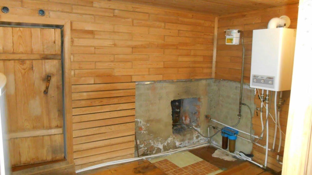 Плюсы и минусы газового отопления в бане