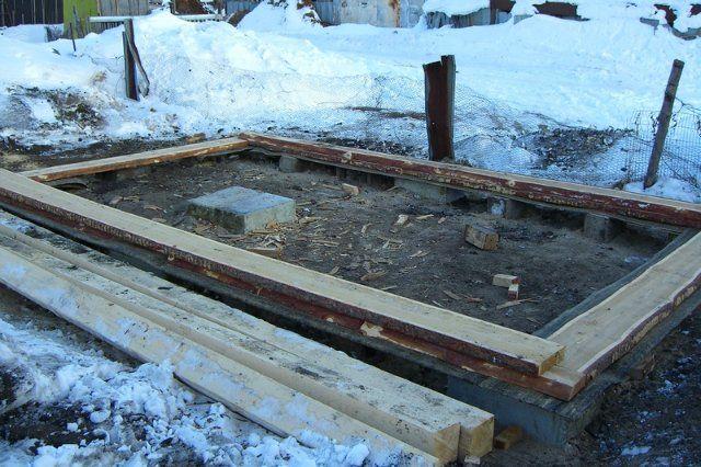 Фундамент под баню из бруса: как выбрать основание правильно