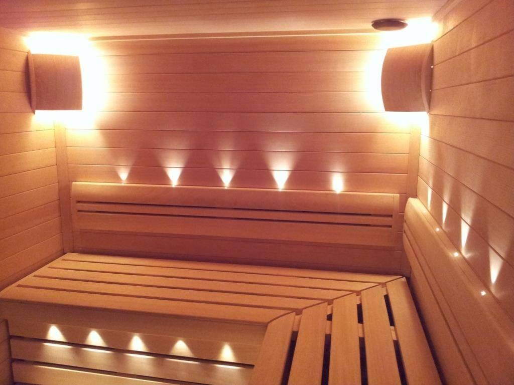 Принципы выбора и изготовления светильников для бани в парилку