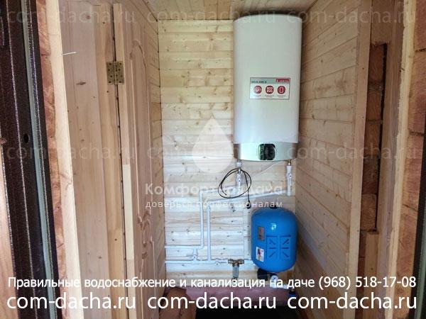 Водопровод в баню, чтобы не замерз зимой на vodatyt.ru