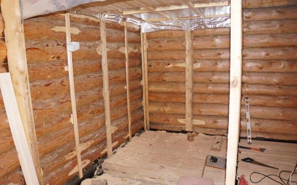 За что выбирают и как применяют базальтовую вату для утепления бани