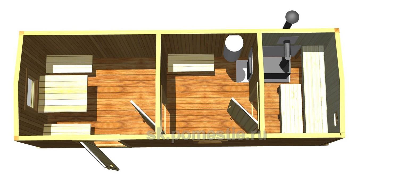 Баня 3 на 7 планировка внутри фото