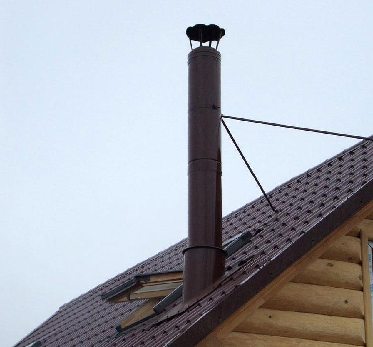 Дымоходы для банной газовой печи: выбор материала, монтаж и особенности эксплуатации