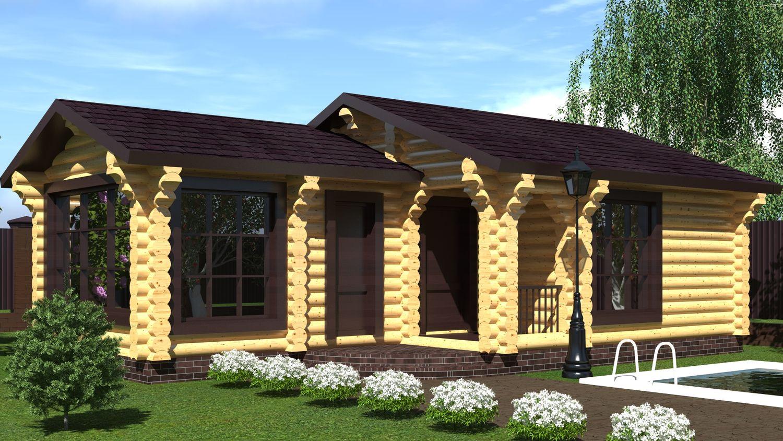 Баня с беседкой под одной крышей: проекты, особенности компоновки и строительства