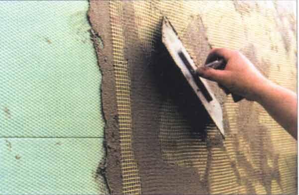 Штукатурка по пеноплексу фасада снаружи и стен внутри помещения: виды, технология