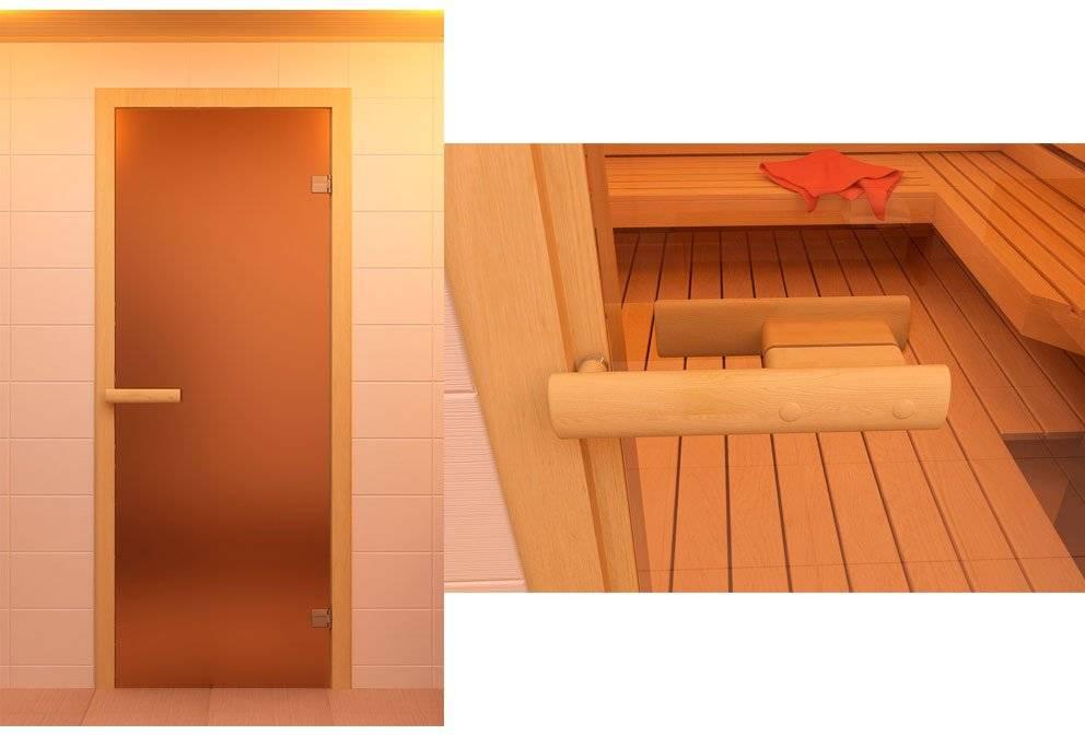 Изготовление и установка деревянной двери в бане