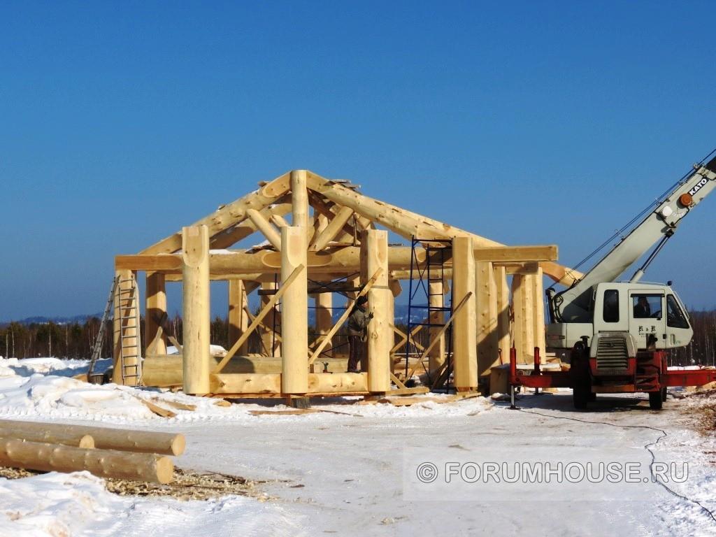 Можно ли строить баню зимой - постройка