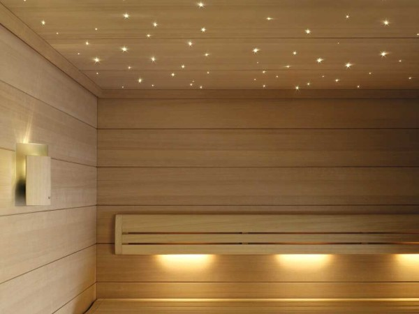 3 вида светильников для бани [+12 фото]
