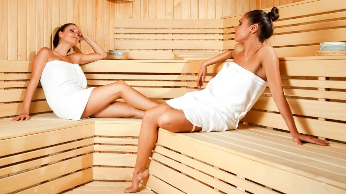 Баня для похудения: основное действие на организм