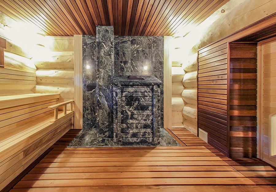 Дизайн бани (62 фото): оформление внутри парилки и предбанника, обустройство интерьера сауны своими руками