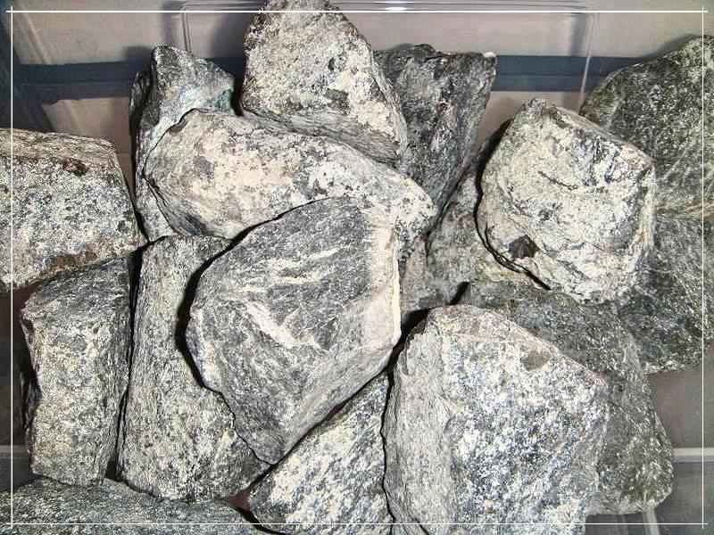 Дунит - свойства, применение для бани