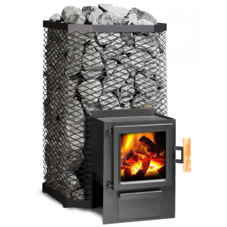 Печь-каменка harvia (харвия, финляндия) электрическая печь harvia cilindro pc90 steel