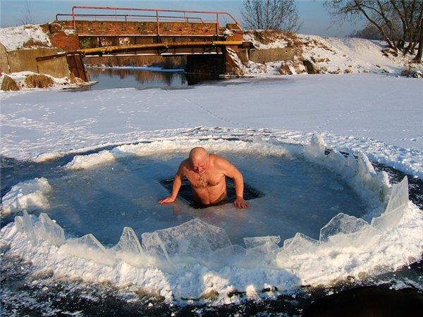 В снег из бани польза или вред