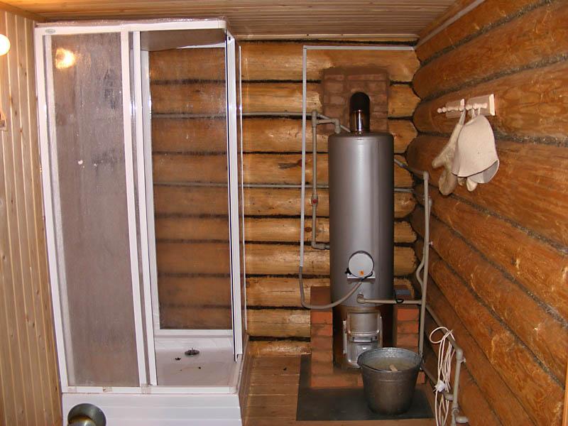 Душевая кабина для бани [деревянная]: своими руками