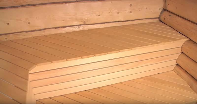 Как и чем обработать полок в бане – проверенные средства для обработки