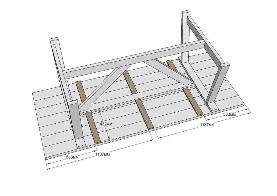 Стол из дерева своими руками: инструкция по изготовлению кухонного, журнального и детского столов
