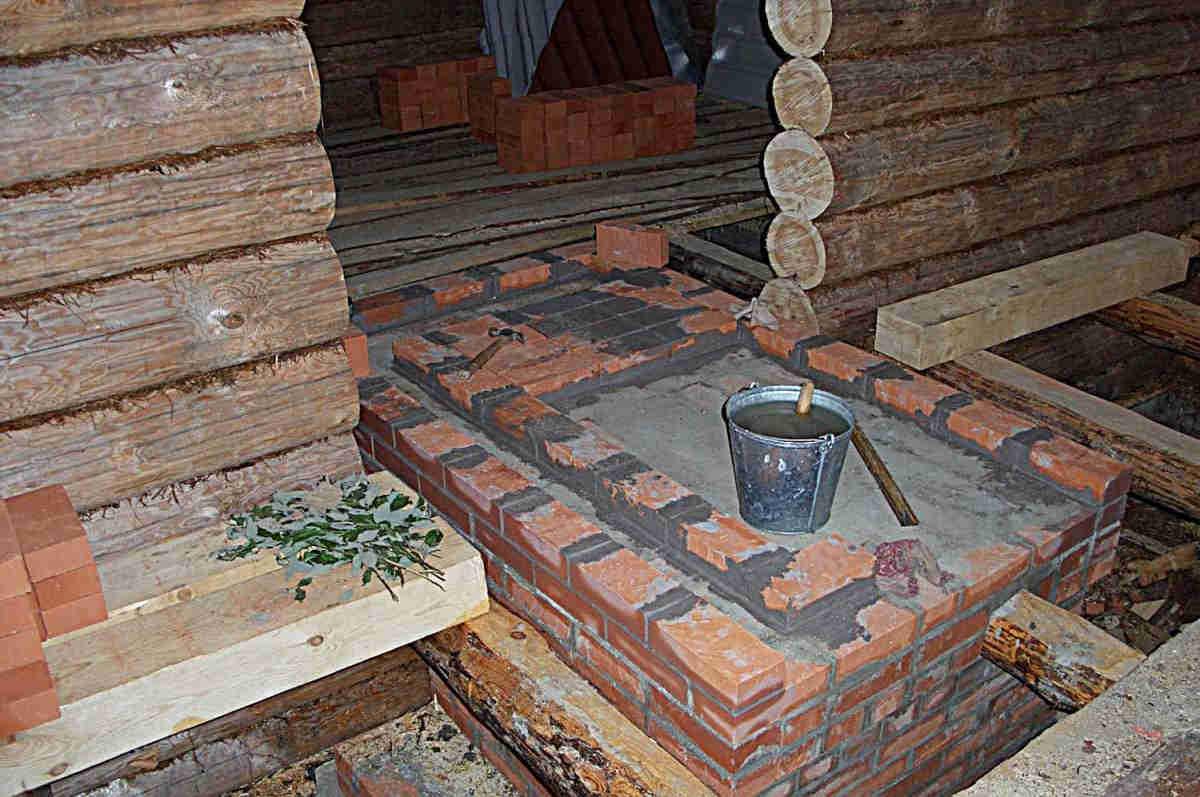 Как сделать фундамент под тяжелую кирпичную печь: пошаговая инструкция
